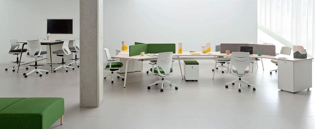 Mesas de oficina Twist de Actiu