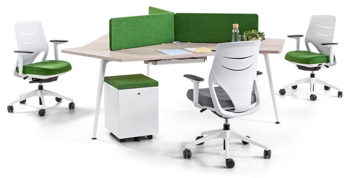 Mesas de oficina Twist – Moma Disseny