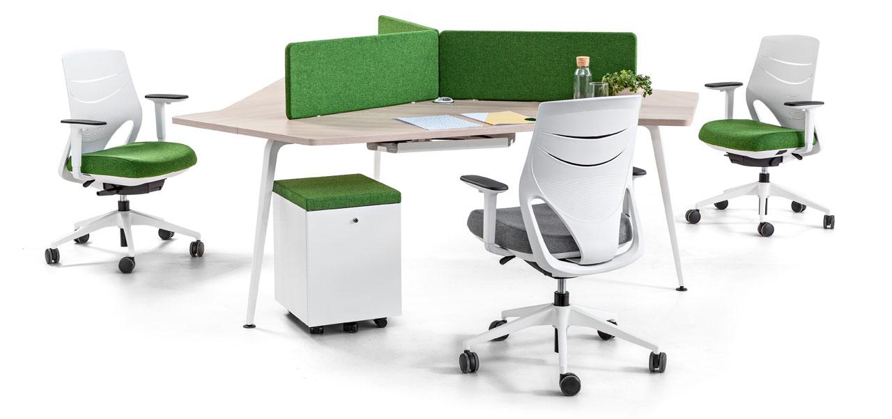 Actiu Twist Gen. Mesas de oficina